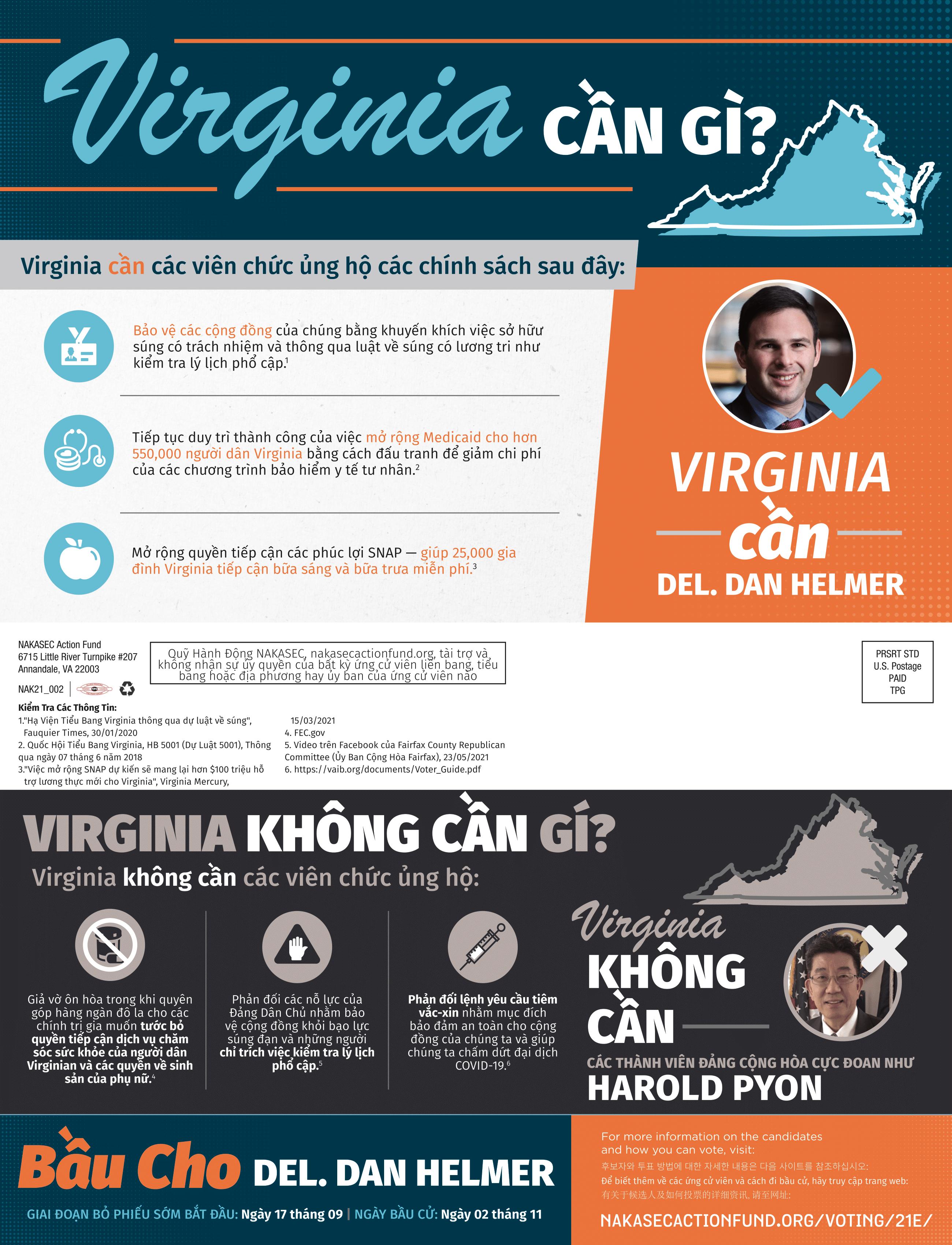 2021 Virginia HD-40 Mailer VIET